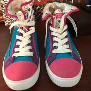 Funky, Foxy High Tops